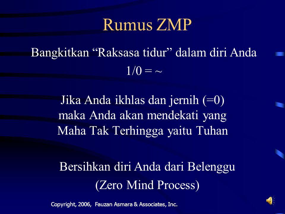 Copyright, 2005, Fauzan Asmara & Associates, Inc.