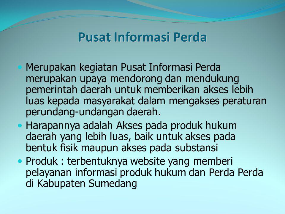 Pusat Informasi Perda
