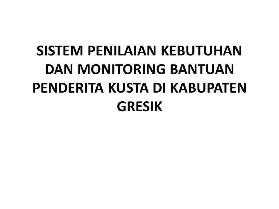 PDM Pada CDM Sistem Penilaian Tingkat Kebutuhan dan Monitoring Bantuan Penderita Kusta.