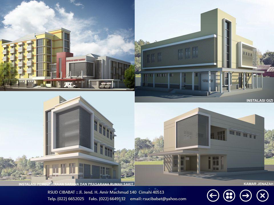 RSUD CIBABAT :: Jl. Jend. H. Amir Machmud 140 Cimahi 40513 Telp. (022) 6652025 Faks. (022) 6649112 email: rsucibabat@yahoo.com BLOCKPLAN