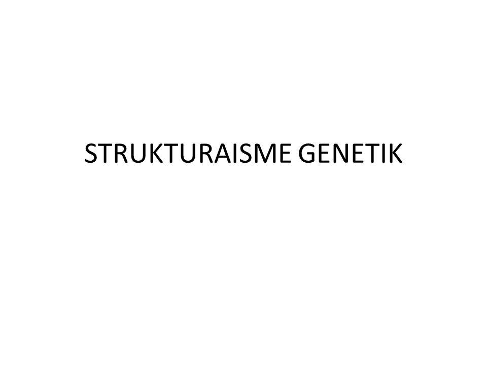 STRUKTURAISME GENETIK