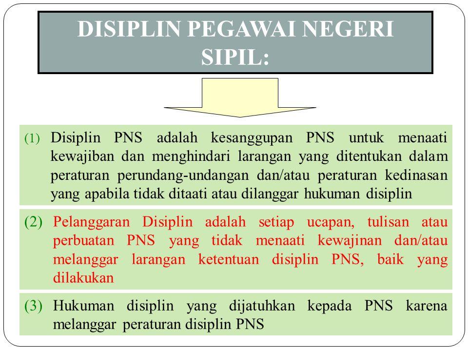 6 (1) Adalah pedoman sikap, tingkah laku dan perbuatan yang harus dilaksanakan oleh setiap PNS (2) Etika  bernegara, berorganisasi, ber masyarakat, d