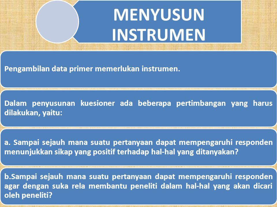 14 4. Skala Rating Dalam skala rating data yang diperoleh adalah data kuantitatif kemudian peneliti baru mentranformasikan data kuantitatif tersebut m