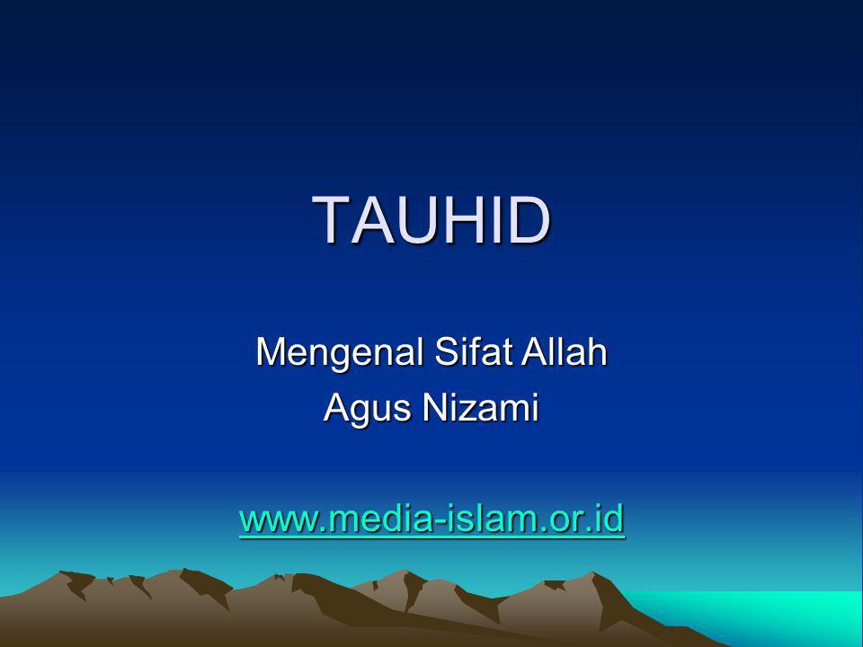 7.Qiyamuhu bi Nafsihi - Mandiri Allah mandiri.