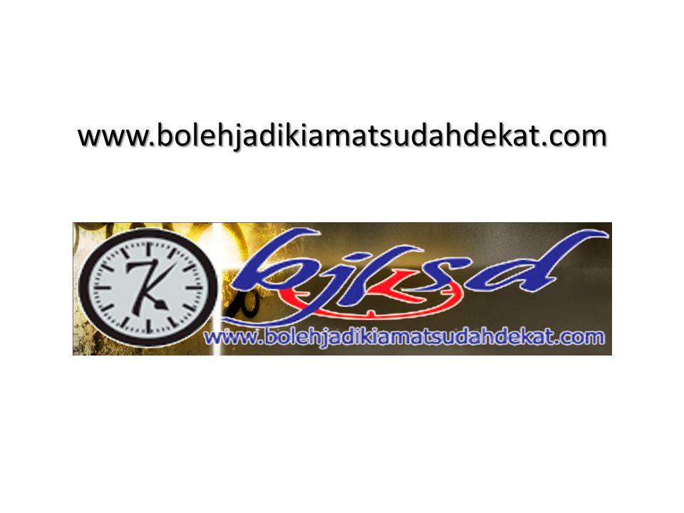 www.bolehjadikiamatsudahdekat.com