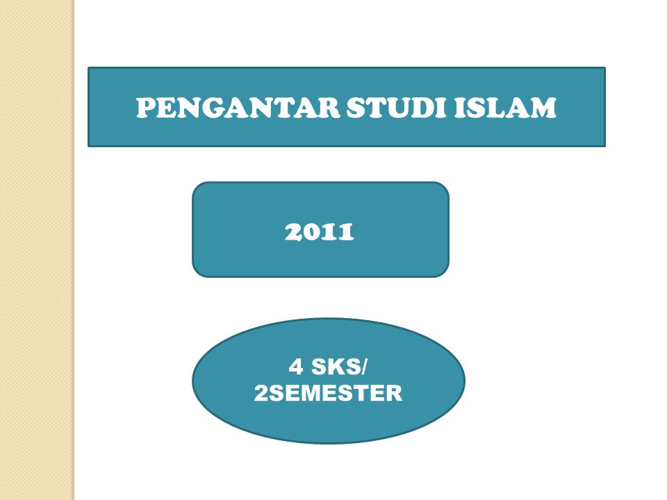PERUBAHAN NAMA DARI METODOLOGI STUDI ISLAM MENJADI PENGANTAR STUDI ISLAM DISEBABKAN TERUTAMA KARENA KERAGAMAN PEMAHAMAN UNGKAPAN METODOLOGI STUDI ISLAM.