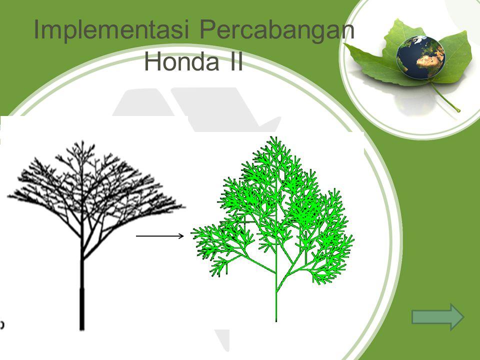 Implementasi Percabangan Honda II