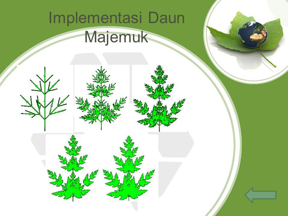 Implementasi Daun Majemuk