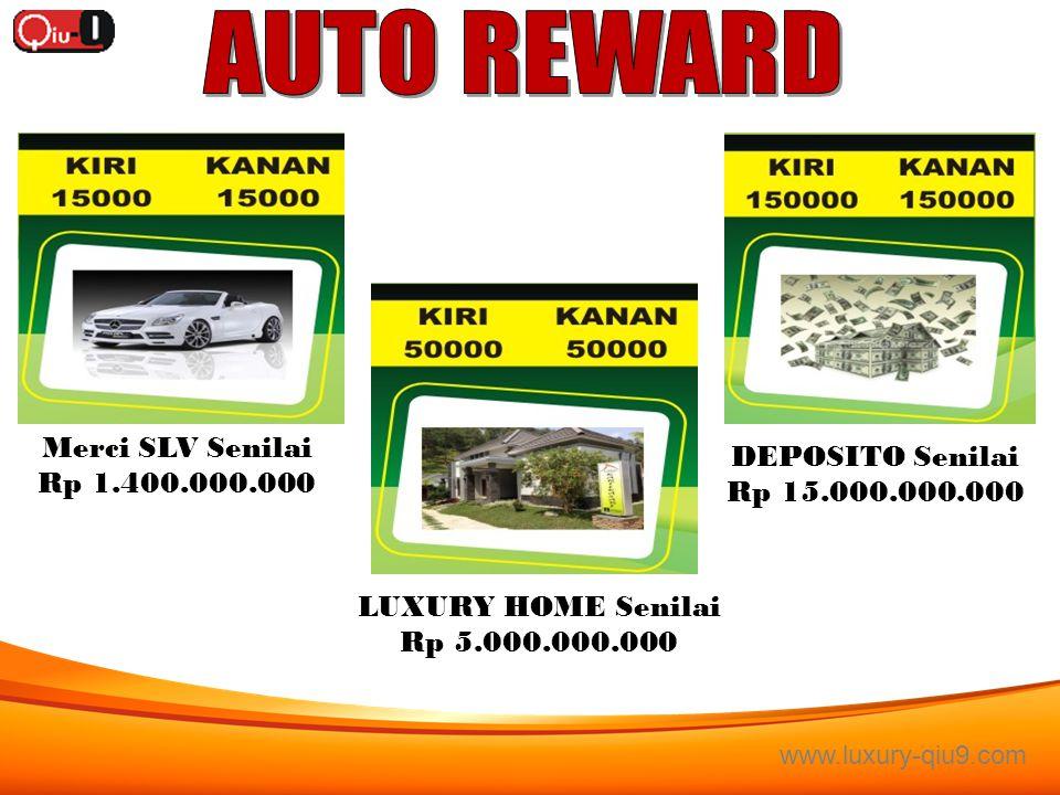www.luxury-qiu9.com Motor Ninja Senilai Rp. 59.000.000.- Honda Jazz Senilai Rp 250.000.000 Pajero Sport Senilai Rp 450.000.000