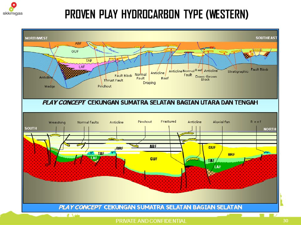 30 PRIVATE AND CONFIDENTIAL PROVEN PLAY HYDROCARBON TYPE (WESTERN)