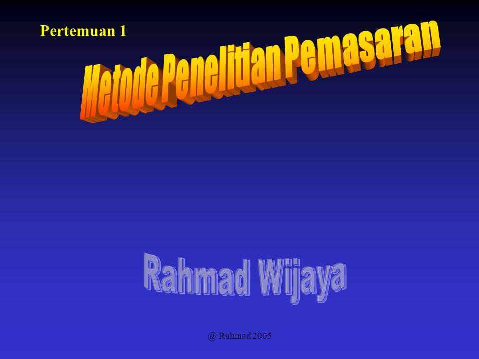 @ Rahmad 2005 Pertemuan 1