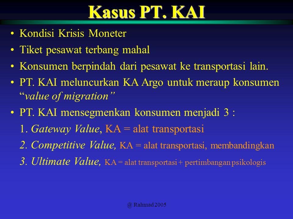 @ Rahmad 2005 Kasus PT.