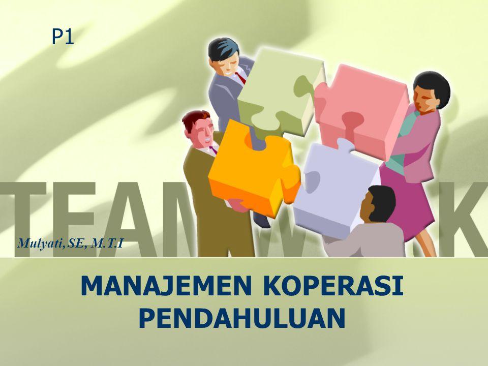Manaj.Koperasi & UMKM Mulyati, SE., M.T.I Palembang, 14 September 1982 - S1 Univ.