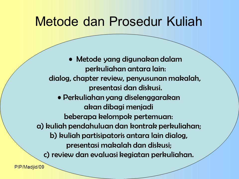 PIP/Madjid/09 REFERENSI Ace Suryadi dan Dasim, B.(2004).