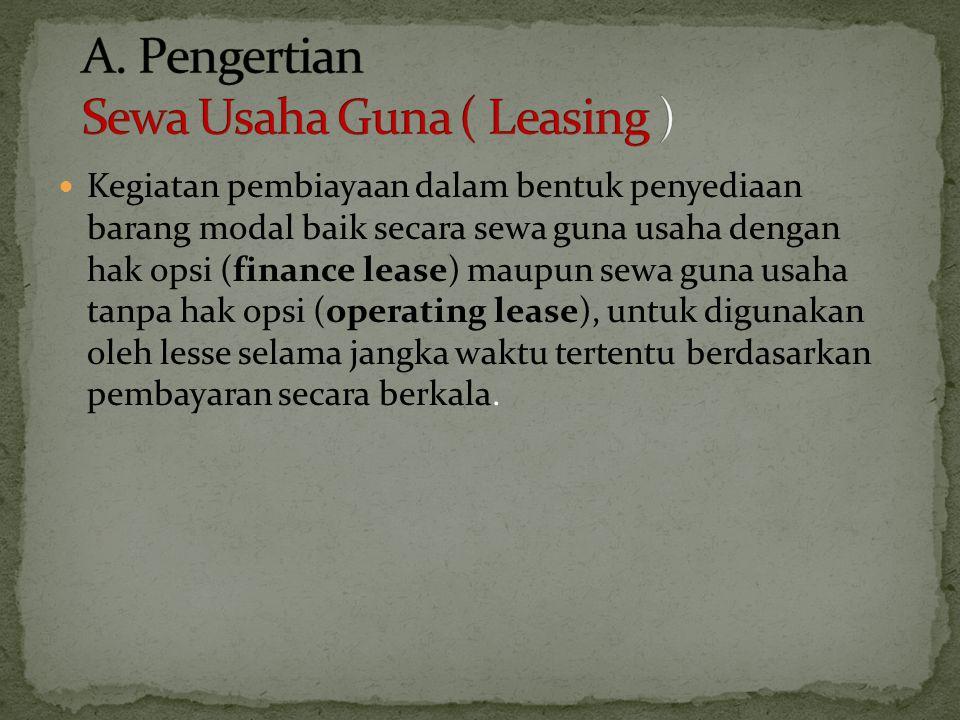 Pak Badu selaku direktur PT Investama Putra (bergerak di bidang penyewaan mobil dan telah dikukuhkan sebagai PKP) berencana membeli 15 unit mobil Suzuki Splash untuk menambah pangsa pasar di kalangan kawula muda.