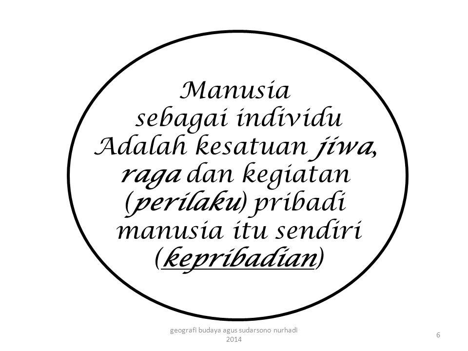 Dengan melihat posisi geo politik Indonesia diantara dua perbedaan tersebut tentunya sangat mempengaruhi kebudayaan yang berkembang di Indonesia (bisa positif atau negatif)..