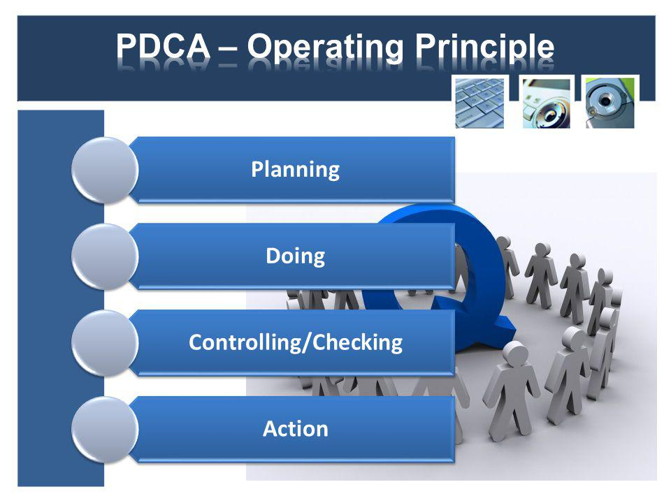 Planning Doing Controlling/Checking Action