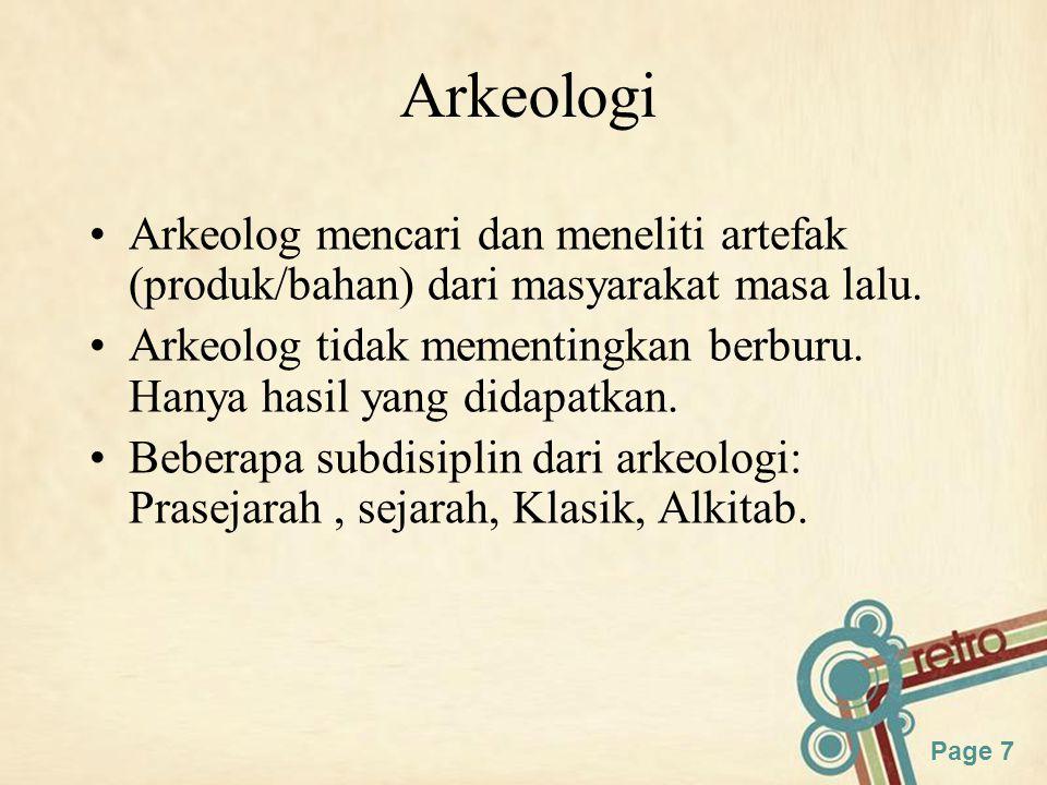 Page 8 Antropologi Linguistik Terdiri dari antropologi, filsafat, bahasa Area penelitian: –Bagaimana sebuah bahasa digunakan –Hubungan antara bahasa dan budaya –How humans acquire language Sub bahasannya: –Structural, historical, sociolinguistics