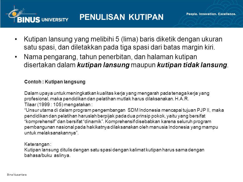 Bina Nusantara BAB.