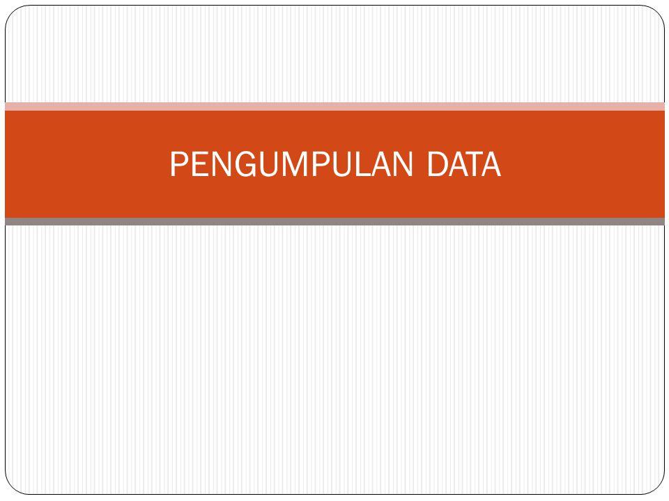 JENIS SAMPLING ACAK/RANDOM/PROBABILITY SAMPLING (3) 3.