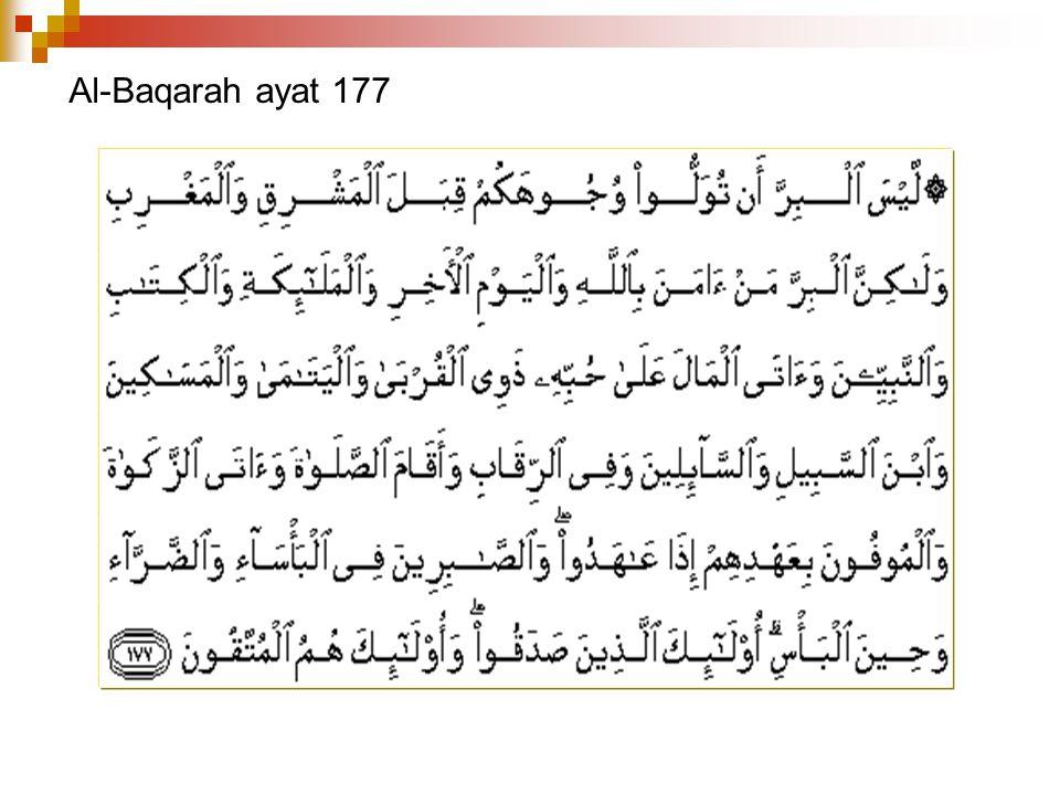 Al-Baqarah ayat 177