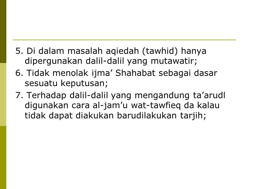 Contoh Putusan yang dikoreksi  Hukum Memasang gambar KH Ahmad Dahlan pada awalnya dinyatakan haram karena dikhawatirkan menimbulkan kultus dan syirik