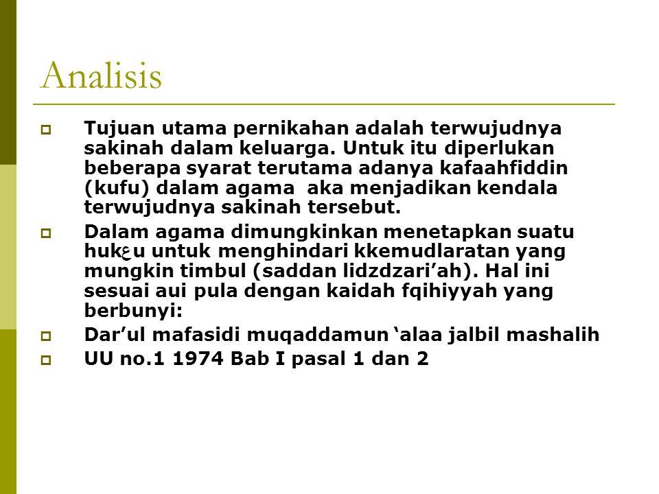 Analisis Pengharaman Nikah Laki-laki Muslim dengan Perempuan Ahlul Kitab Haram :  Al-maidah 72-73  - لقد كفر الذين قالوا إن الله هو المسيح ابن مريم