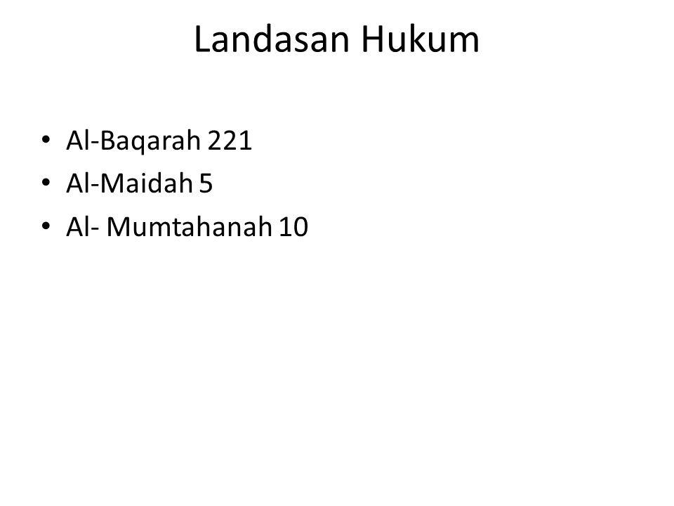 Mazhab Maliki Ada 2 pendapat : 1.nikah dengan kitabiyah hukumnya makruh mutlak (dzimmiyah dan Harbiyah) 2.tidak makruh mutlak karena ayat tersebut tidak melarang secara mutlak.