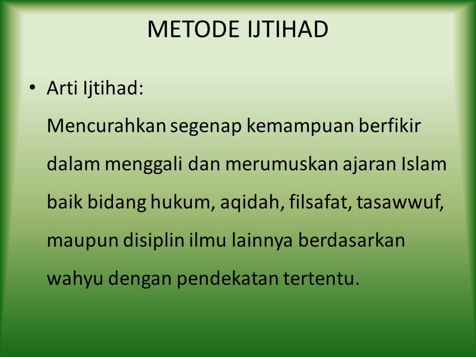 MABADI KHOMSAH MANHAJ TARJIH MUHAMMADIYAH Masalah Lima tersebut meliputi : – Pengertian Agama (Islam) – Pengertian Dunia (al Dunya) – Pengertian Al Ib