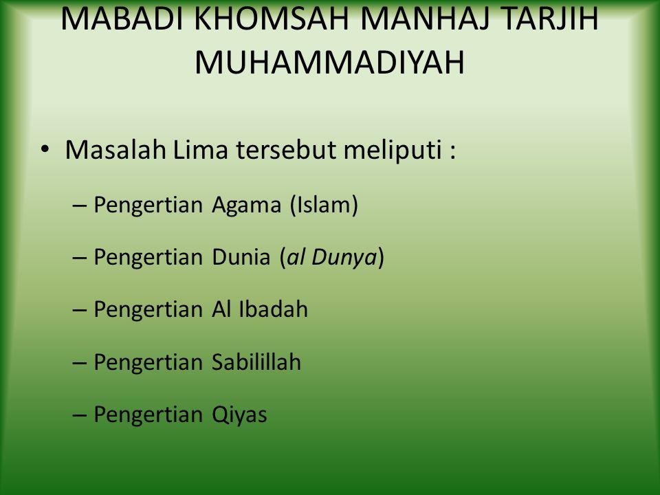 Contoh Putusan yang dikoreksi Hukum Memasang gambar KH Ahmad Dahlan pada awalnya dinyatakan haram karena dikhawatirkan menimbulkan kultus dan syirik;