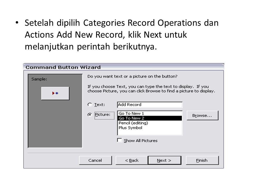 Langkah selanjutnya kita masukan sub form yang telah kita buat kedalam form entry data traskip.