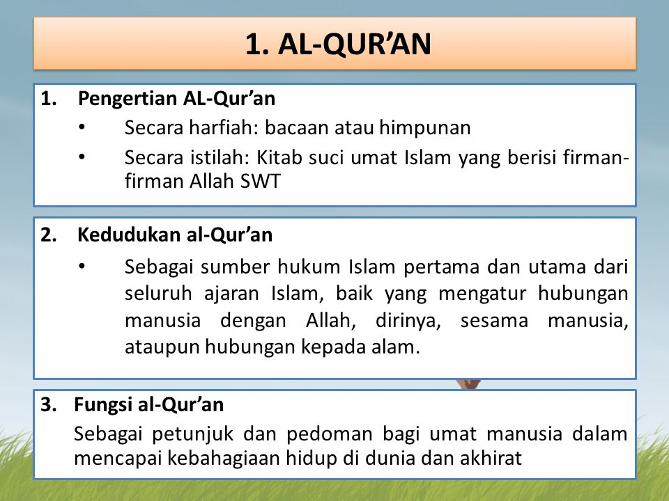 1.Kedudukan dan Fungsi Hukum takhlifi a.Al-Ijab b.An-Nadb (sunnah) c.Al-Karahah d.At-Tahrim e.Al-Ibahah 1.Pengertian Hukum Takhlifi dan Wad'i Hukum Takhlifi : Ketentuan Allah SWT yang menuntut mukalaf untuk melakukan atau meninggalkann suatu perbuatan.