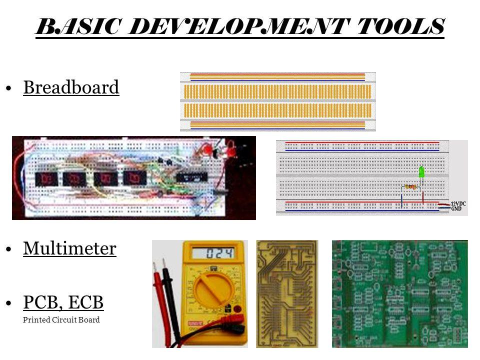 Percobaan - 1 Tujuan: –Mengerti fungsi dasar dari logic gate (Not Gate) Langkah –Pasang IC 7404 (Not Gate IC) pada Breadboard –Pilih salah satu not gate pada IC diatas (lihat gambar) –Hubungkan kabel sesuai dengan rangkaian dibawah.