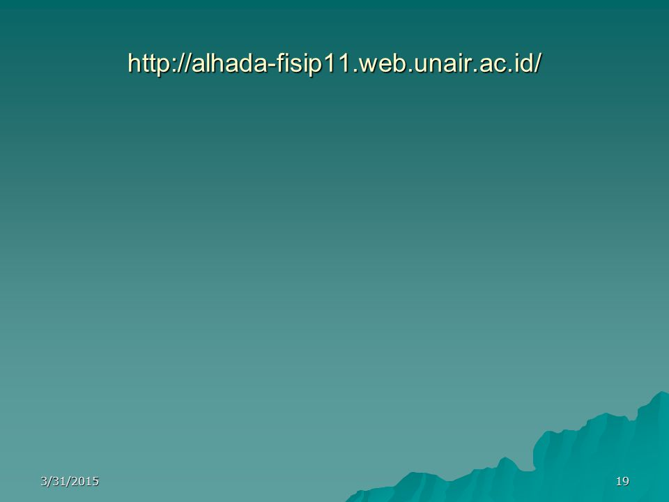 http://alhada-fisip11.web.unair.ac.id/ 3/31/201519