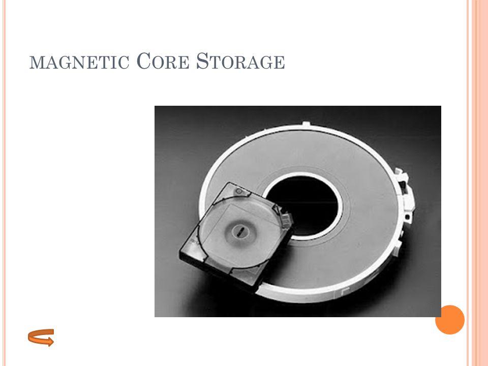 MAGNETIC C ORE S TORAGE