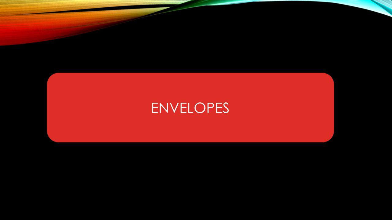 POINT ENVELOPES Untuk alamat Anda bisa menggunakan alamat yang ada di Microsoft Office Outlook/Microsoft Exchange.