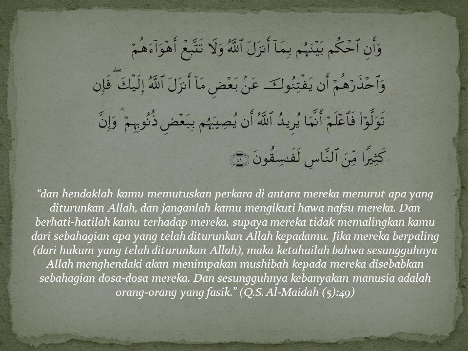 Khilafah adalah kepemimpinan umum bagi seluruh kaum muslimin di dunia untuk menegakkan hukum-hukum syari'at Islam dan mengemban da'wah kesegenap penju
