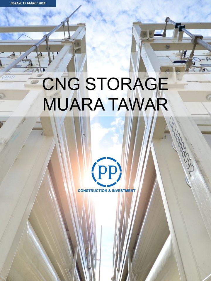 CNG STORAGE MUARA TAWAR BEKASI, 17 MARET 2014