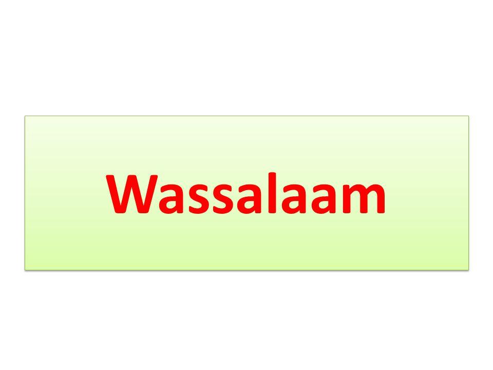 Wassalaam
