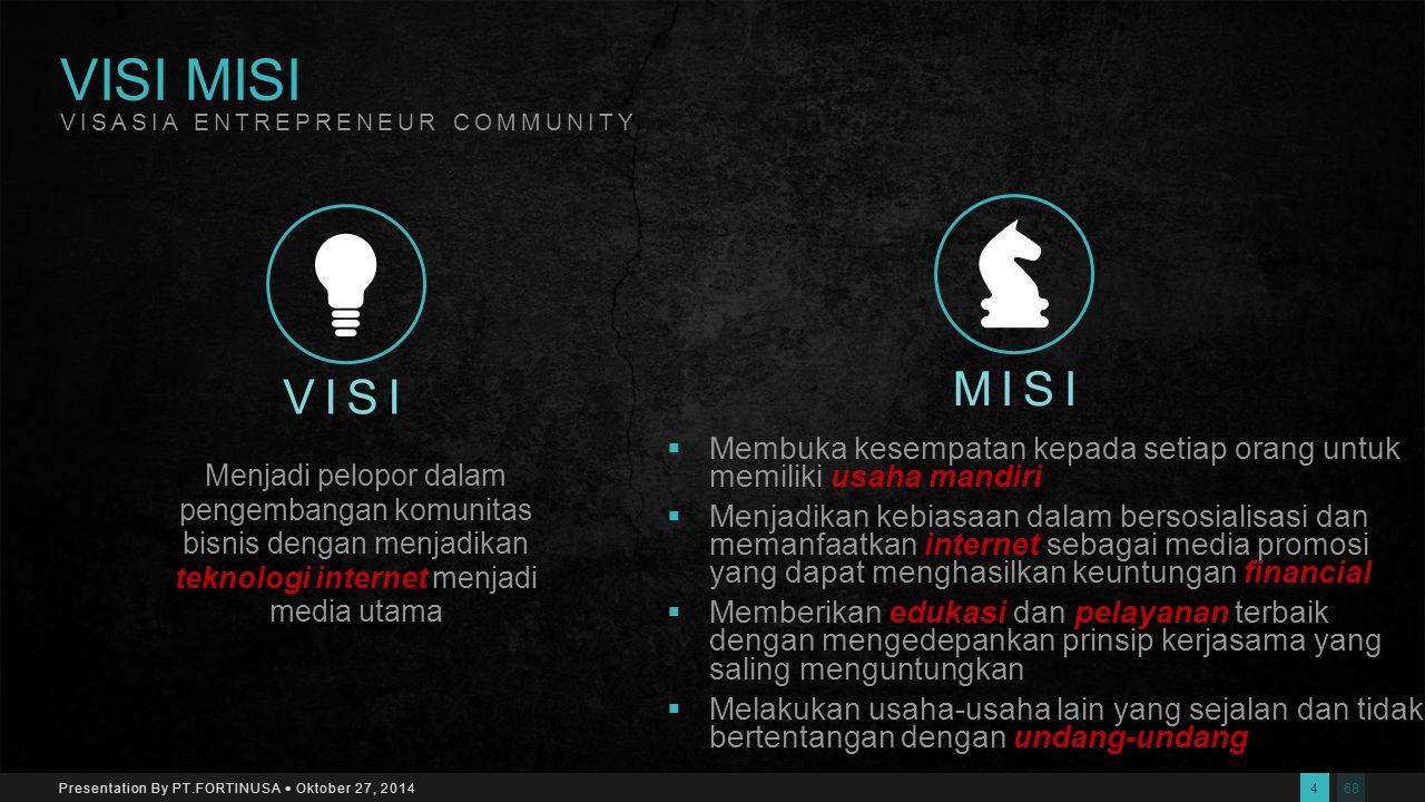 683 Presentation By PT.FORTINUSA  Oktober 27, 2014 PENDIDIKAN Edukasi & Traning INTERNET Tool / Alat Bantu TEAM WORK Community Development TENTANG KA