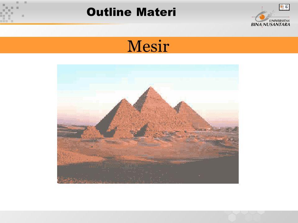 3 Outline Materi Mesir