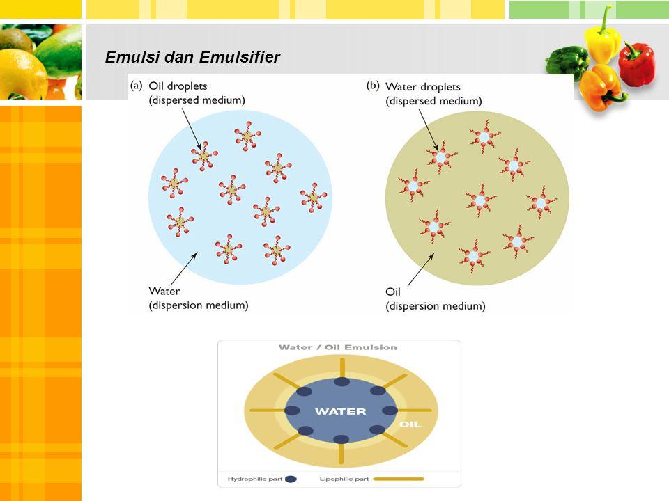 Emulsi dan Emulsifier