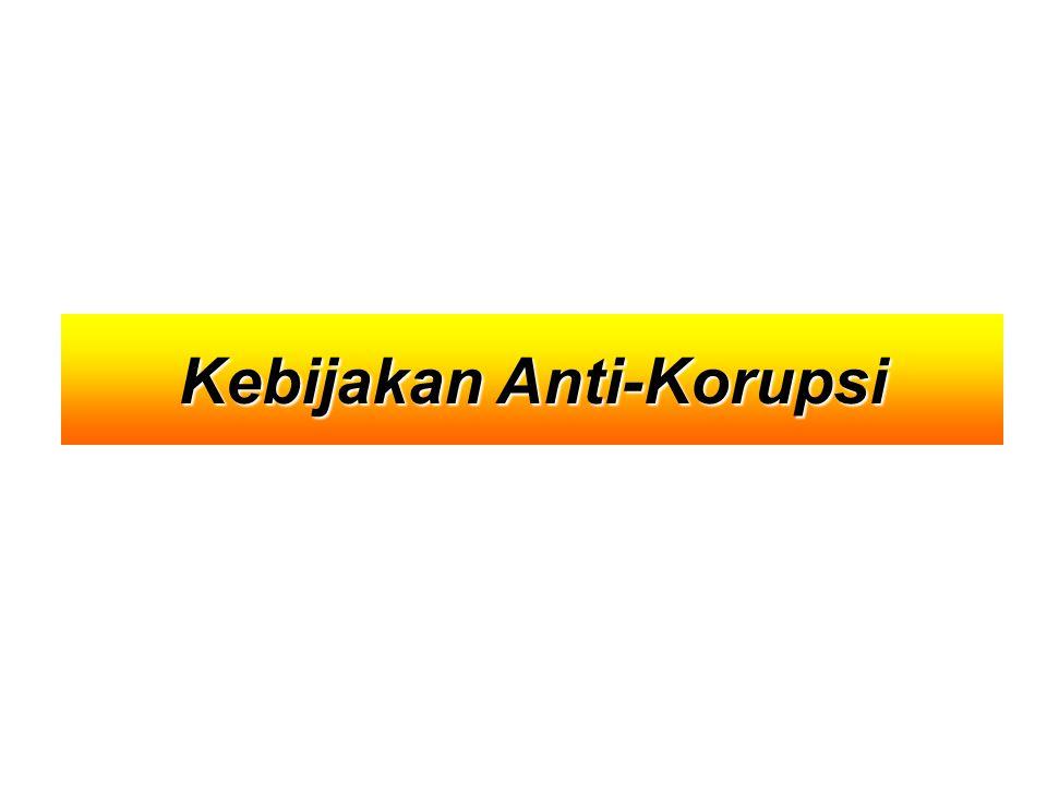 Kebijakan Anti-Korupsi