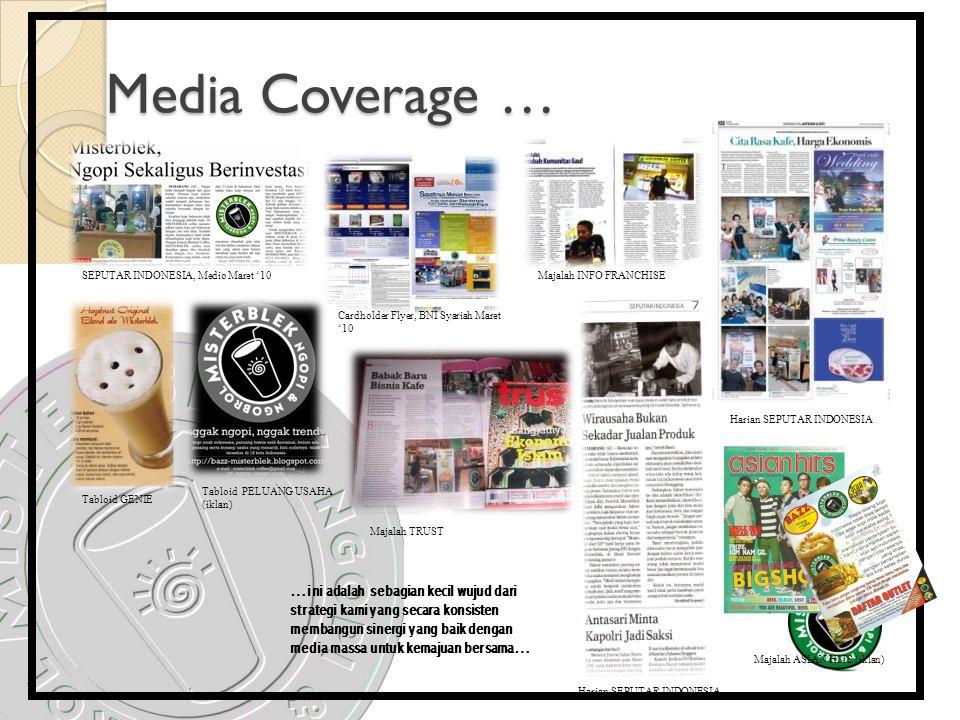 Media Coverage … SEPUTAR INDONESIA, Medio Maret '10 Cardholder Flyer, BNI Syariah Maret '10 Majalah INFO FRANCHISE Tabloid GENIE Tabloid PELUANG USAHA