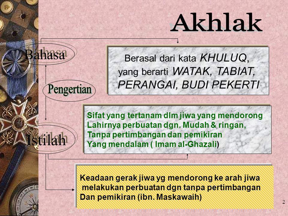 1 Orientasi Nilai-Nilai Dasar Islam Universitas Islam Indonesia Yogyakarta 2012