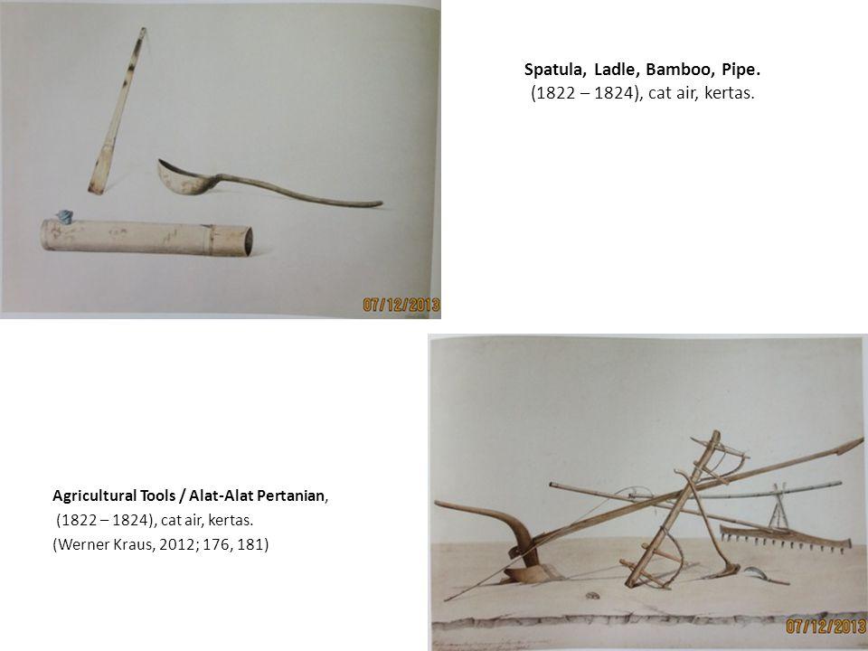 Horse Attacked by a Lion (1842), graphite on paper, (Kraus, 2012; 192) Kepala Singa (1840), tinta coklat, kertas, (Kraus, 2012; 201)