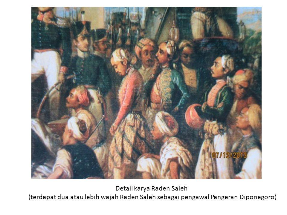 Sebagai karya interpretasi, RS melakukan rekonstruksi dan reposisi aktor-aktor (subjek) dalam lukisan.