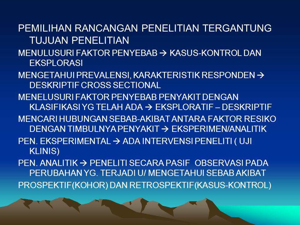 2.QUOTA SAMPLING JUMLAH DAN KRITERIA SESUI DENGAN YG.