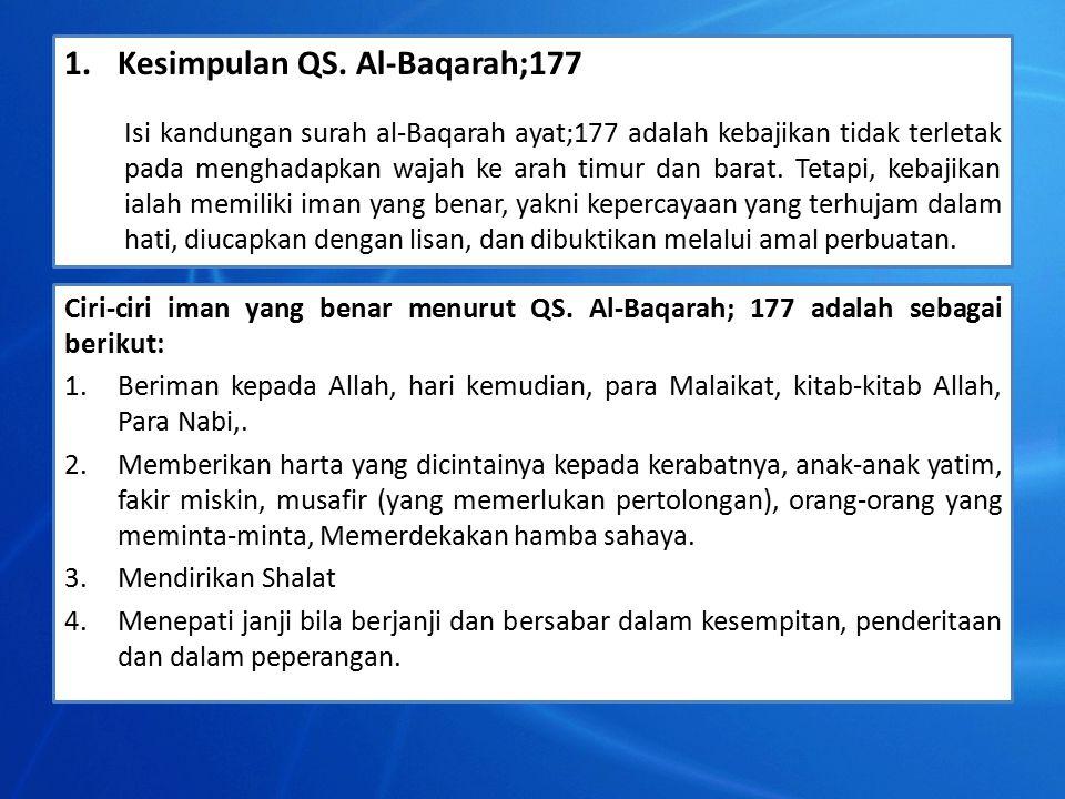1.Kesimpulan QS.