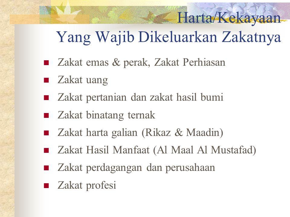 Fiqh Zakat Kontemporer Dr Qordhowi yang mewakili ijtihad kontemporer – misalnya- membagi katagori zakat kedalam sembilan katagori; zakat binatang tern